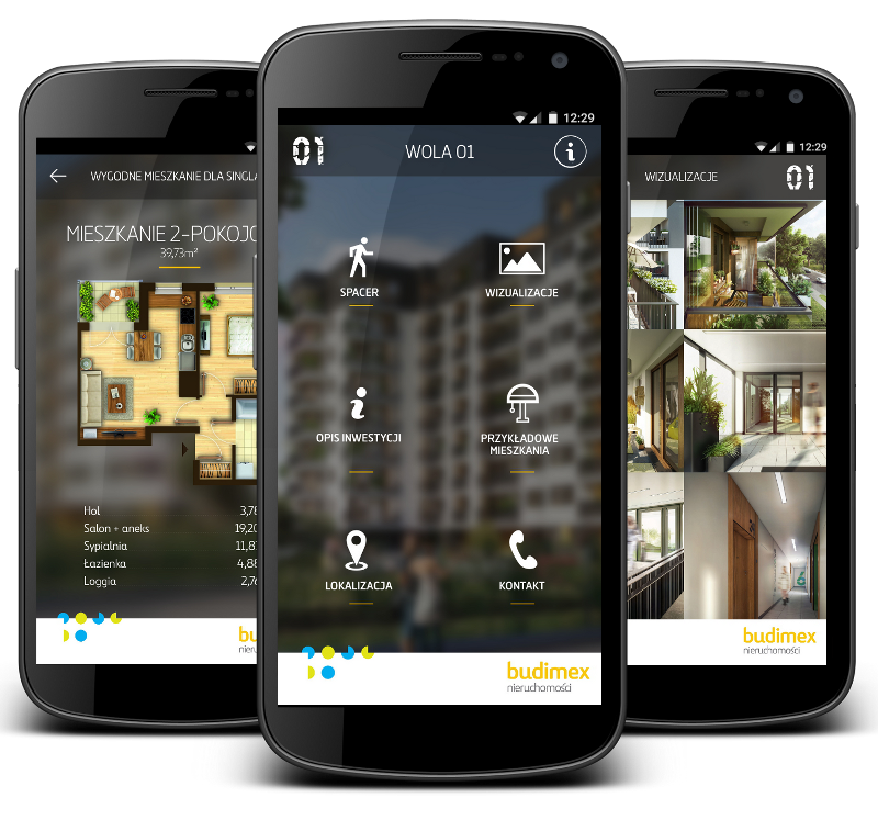 Housing investment mobile app